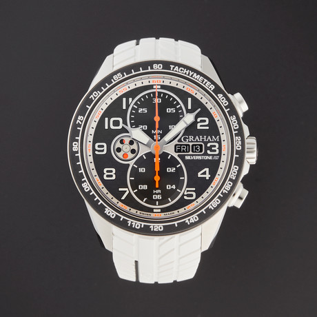 Graham Silverstone RS Racing Chronograph Automatic // 2STEA.B12A-W // Store Display