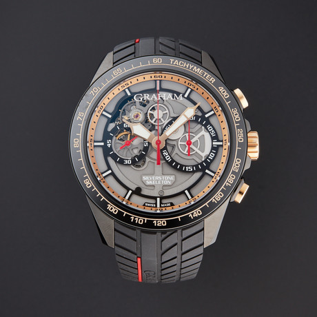Graham Silverstone RS Skeleton GT Asia Chronograph Automatic // 2STAZ.B02B // Store Display