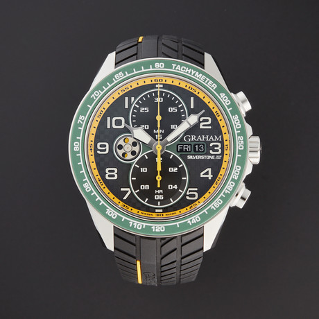 Graham Silverstone RS Racing Chronograph Automatic // 2STEA.B17A // Store Display