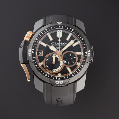 Graham Chronofighter ProDive Automatic // 2CDAZ.B04A.K80H-1 // Store Display