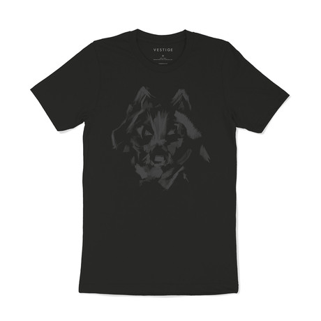 Howl Graphic T-Shirt // Black (S)