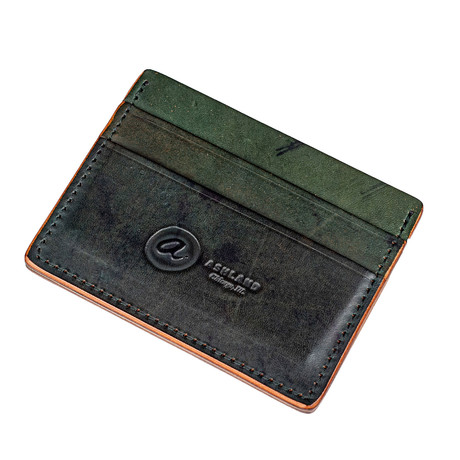 Frank the Enforcer All Reverse Shell Cordovan // Black + Green