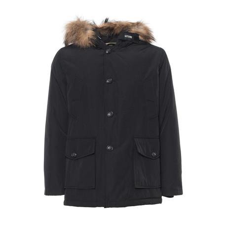 Hooded Jacket V1 // Black (S)
