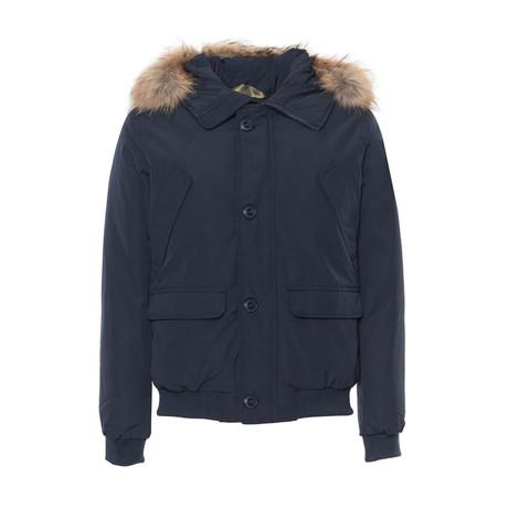 Short Hooded Jacket // Navy (S)