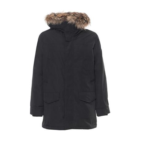 Hooded Parka // Black (S)