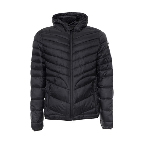 Quilted Jacket // Black (S)