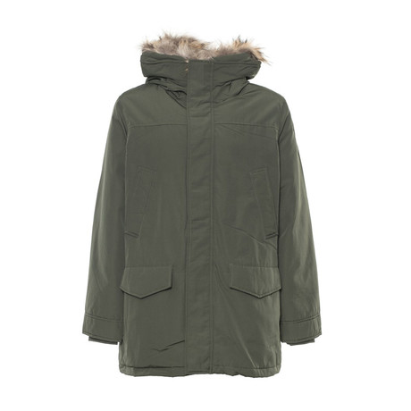 Hooded Parka // Green (L)