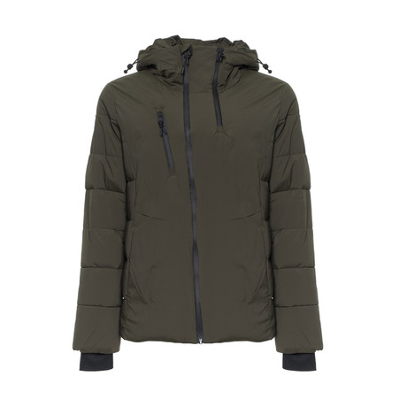 Puffer Coat // Army Green (S)