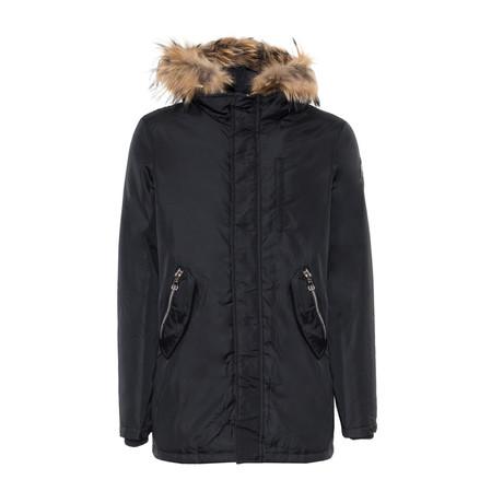 Hooded Jacket V2 // Black (S)