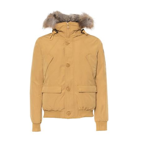 Short Hooded Jacket // Yellow (S)