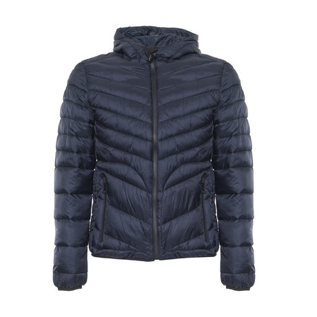 Quilted Jacket // Navy (S)