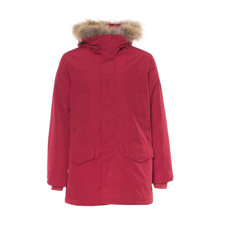 Hooded Parka // Red (S)