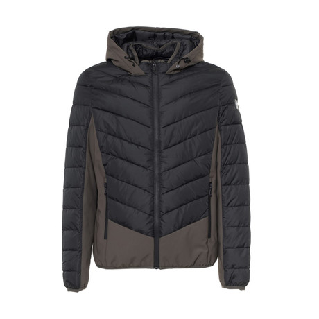 Quilted Jacket // Black, Army Green (S)
