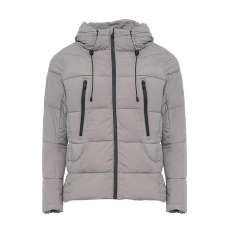 Puffer Coat // Light Gray (S)