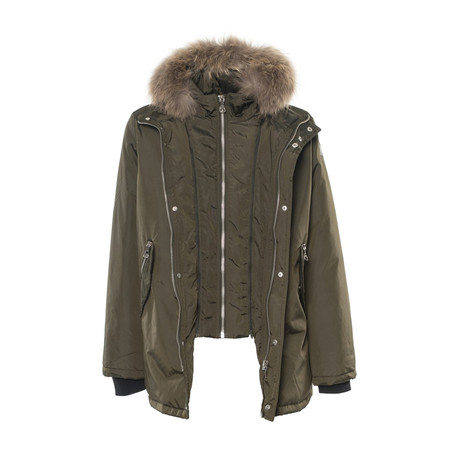 Double Layer Jacket // Army Green (S)