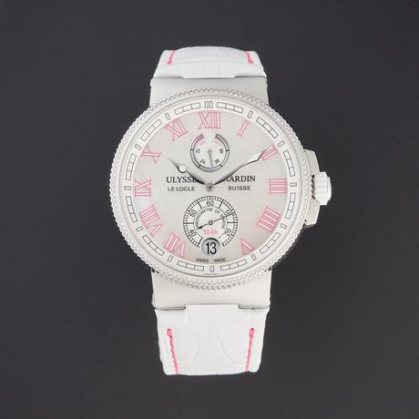 Ulysse Nardin Marine Chronometer Automatic // 1183-126B/470 // Pre-Owned