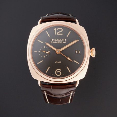 Panerai Radiomir 3 Days GMT Manual Wind // PAM 421 // Pre-Owned