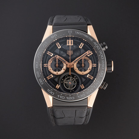Tag Heuer Carrera Calibre Heuer 02 Chronograph Automatic // CAR5A5Y.FC06377 // Pre-Owned
