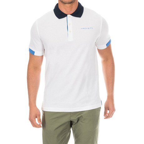 Golf Polo V1 // White (Small)