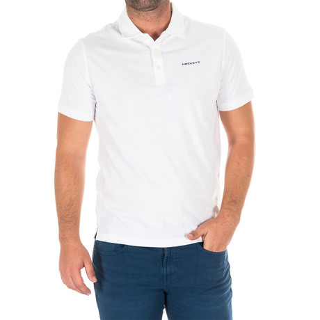 Golf Polo V2 // White (Small)