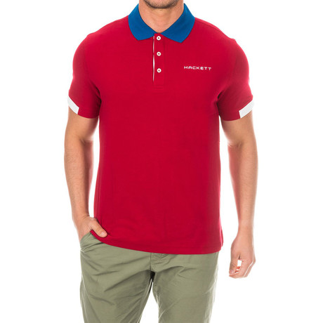 Golf Polo // Red (Small)