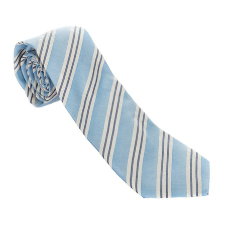 Striped Tie // Blue