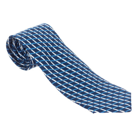 Grid Tie // Blue + White