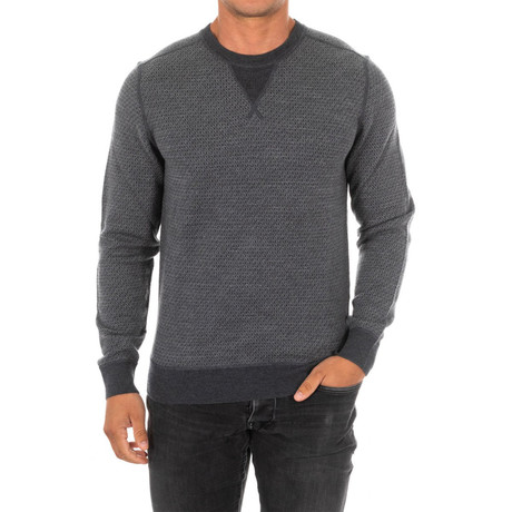 Elbow Patch Sweater // Gray (Small)