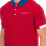 Golf Polo // Red (Large)
