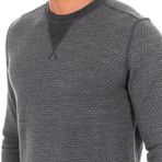 Elbow Patch Sweater // Gray (X-Large)