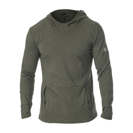 Everyday Ultra Soft Hooded Pullover // Dark Gray (S)