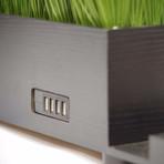 PowerPlant 4-Port USB Charging Station // Black