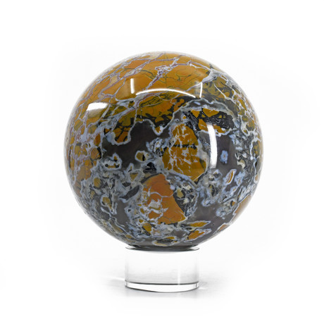 Stone Canyon Jasper // Natural Crystal Sphere