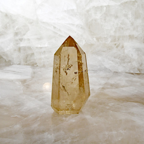 Citrine Natural Crystal // Polished Point