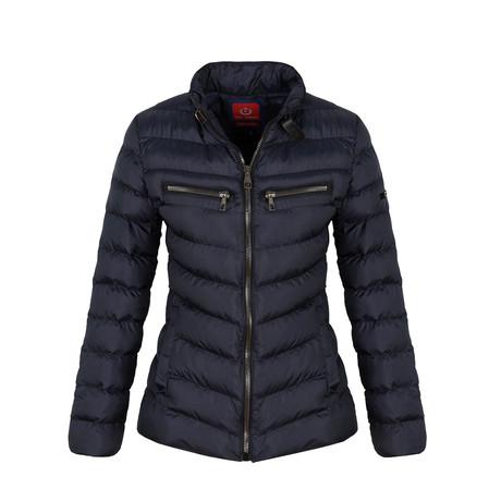 Winter Coat + Zip Pockets // Navy (S)