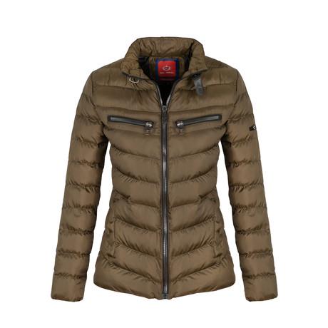 Winter Coat + Zip Pockets // Khaki (S)