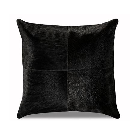 "Bolero Pillow Cover // Obsidian (13""L x 21""W)"