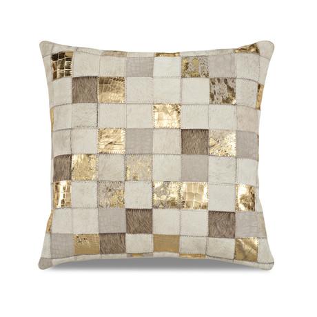 "Samba Pillow Cover // Multitexture Pyrite (13""L x 21""W)"
