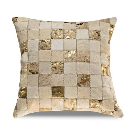 "Samba Pillow Cover // Rhodium (13""L x 21""W)"