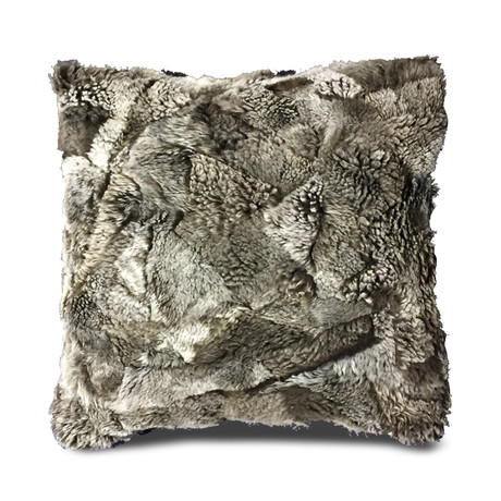 """Bariloche Pillow Cover // Two Tones Mink (13""""L x 21""""W)"""