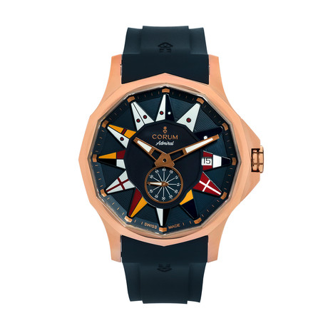 Corum Admiral Legend 42 Automatic // 395.101.55/0373 AB22 // Store Display