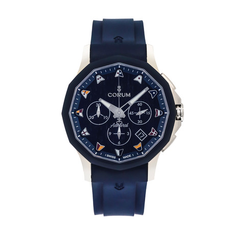 Corum Admiral Legend 42 Chronograph Automatic // 984.113.22/F373 WB12 // Store Display