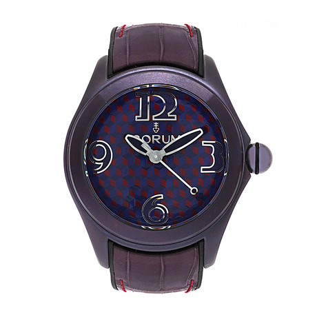 Corum Ladies Bubble 42 Vasarely Automatic // 082.413.98/0210 VA02 // Store Display
