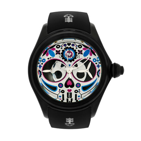 Corum Bubble 47 Sugra Skull Chronograph Automatic // 771.100.95/0371 PS01 // Store Display