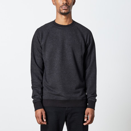 Men's Crew Sweater // Black (S)
