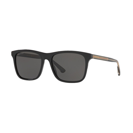Men's Sylvie & Web Square Sunglasses I // Black