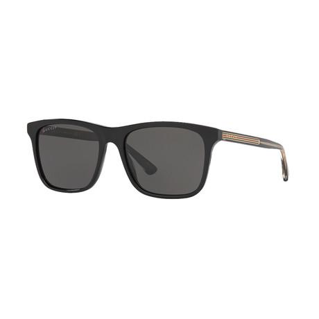 Men's Sylvie & Web Square Sunglasses I // Black