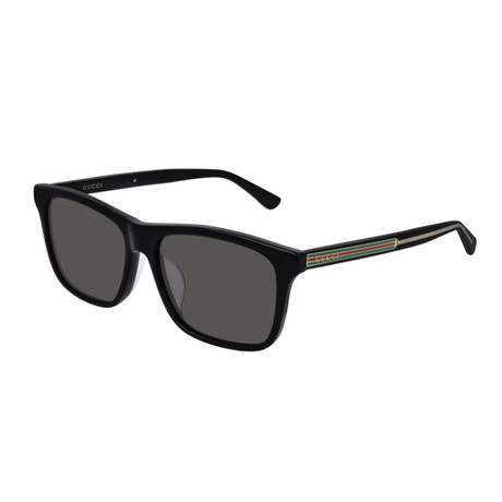 Men's Sylvie + Web Square Sunglasses II // Black