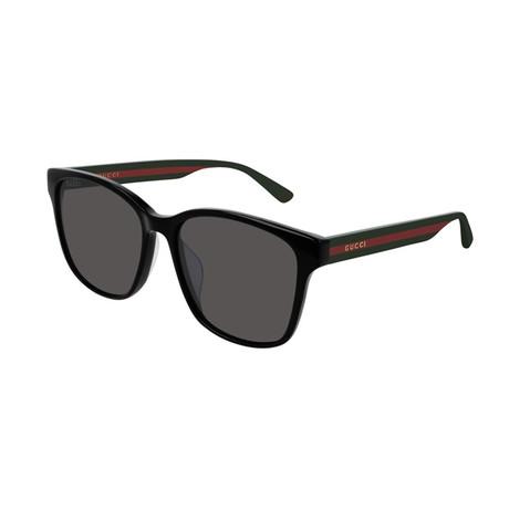 Men's Sylvie & Web Square Sunglasses // Green