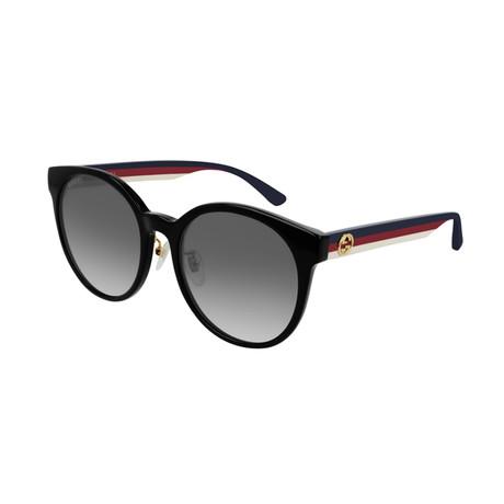 Men's Sylvie & Web Round Sunglasses // Blue